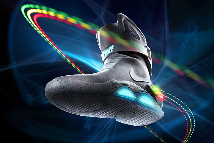 Nike Announces Official Self-Lacing 'Back to the Future' Sneakers