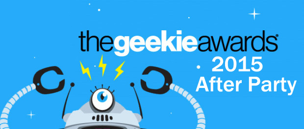 Suit Up! Geek Out! at The Geekie Awards 2015 After Party