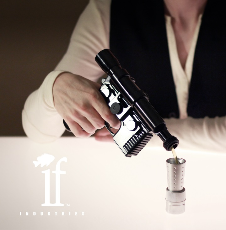 Han Solo Blaster Flask