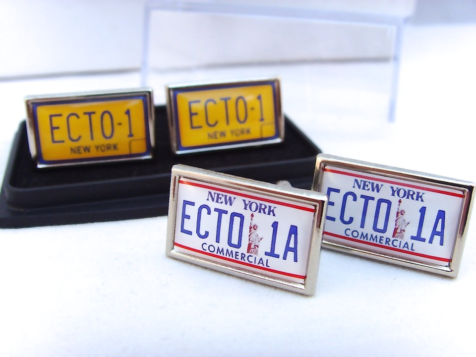 Ghostbusters Ecto-1 & Ecto-1A Cufflinks