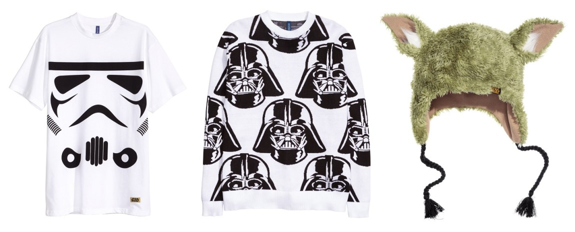 H&M's New Men's Fall/Winter 2015 Star Wars Apparel