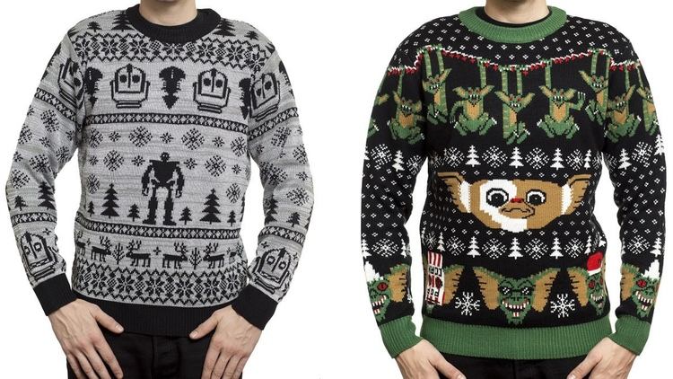 'The Iron Giant' & 'Gremlins' Holiday Sweaters