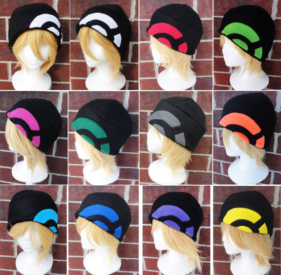 Pokémon X & Y Trainer Hats