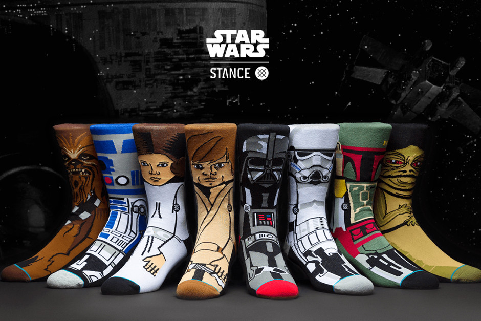 Stance's Star Wars Sock Collection
