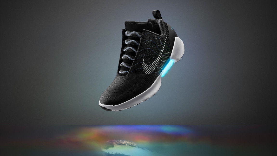 "Nike Introduces First Production Self-Lacing Kicks ""HyperAdapt 1.0"""
