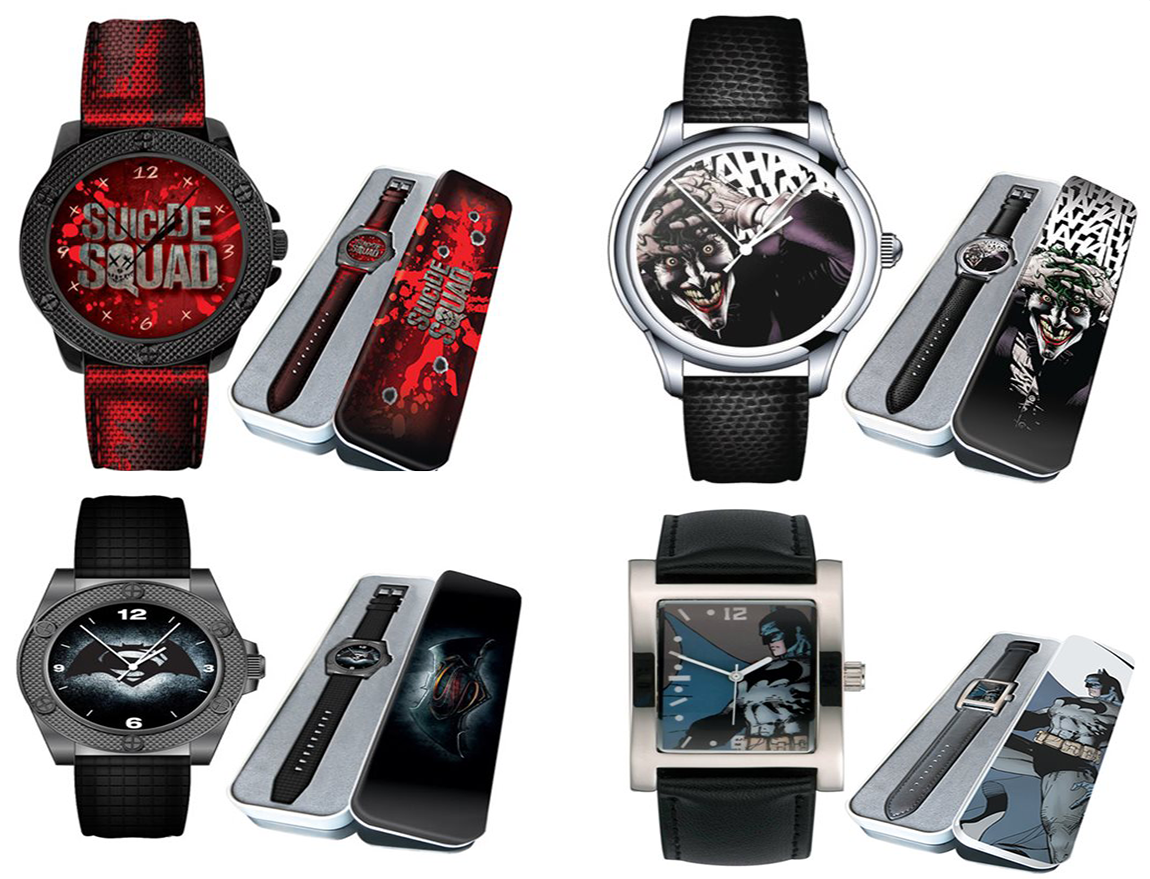 DC Watch Collection From Eaglemoss