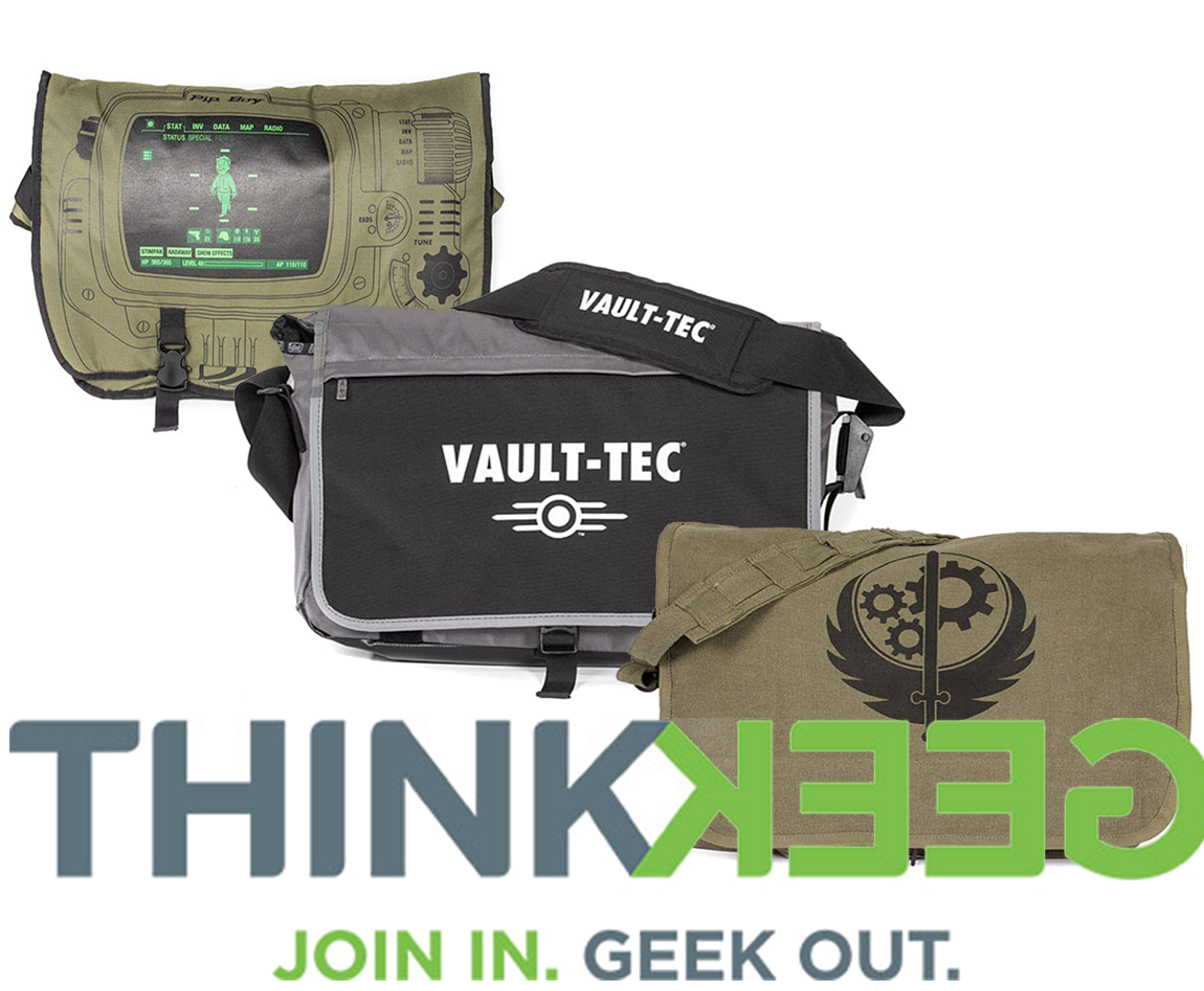 Geek Out With Fallout Messenger Bags