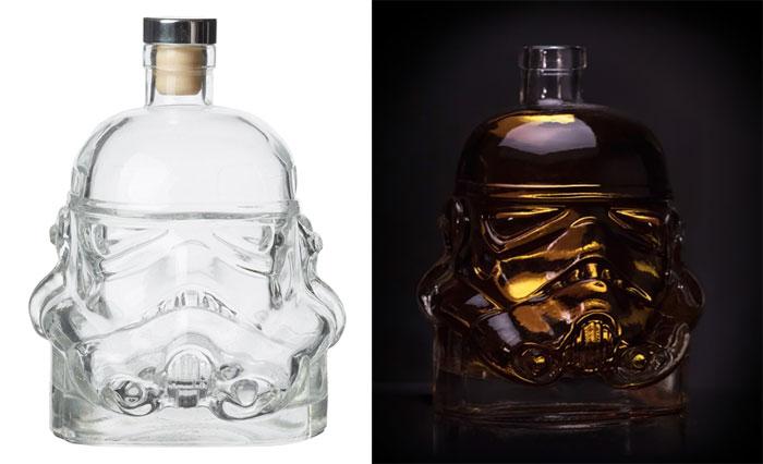 Stormtrooper Helmet Whiskey Decanter & Shot Glass
