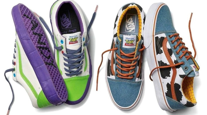 You've Got a Friend in Me! Vans' 'Toy Story' Collection
