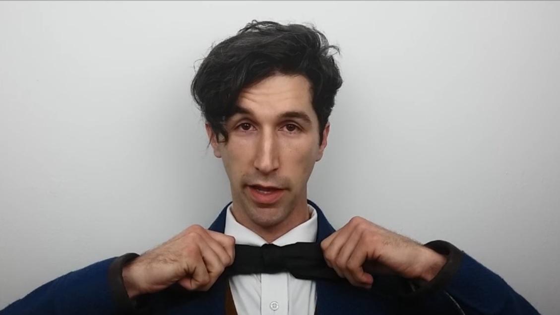 HOW TO: Tie a Necktie into a Bow Tie