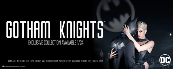 Hot Topic's 'Gotham Knights' Formal Fashion Collection
