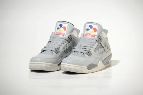 Custom Super Nintendo Air Jordan 4s