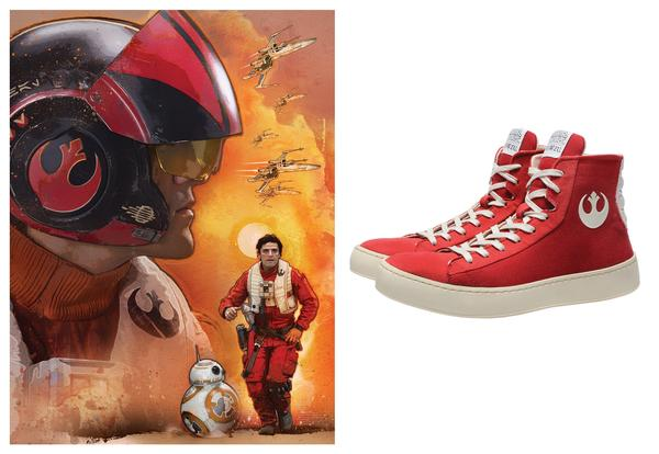 Po-Zu Star Wars Resistance Sneakers