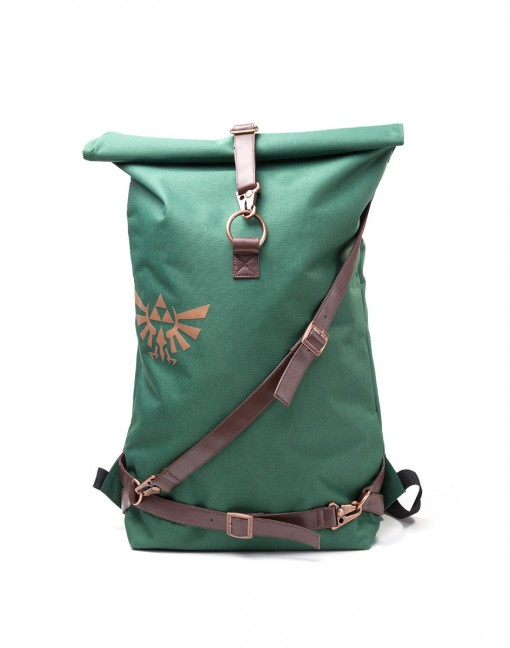 Carry Your Items in this 'Legend of Zelda' Rolltop Backpack!