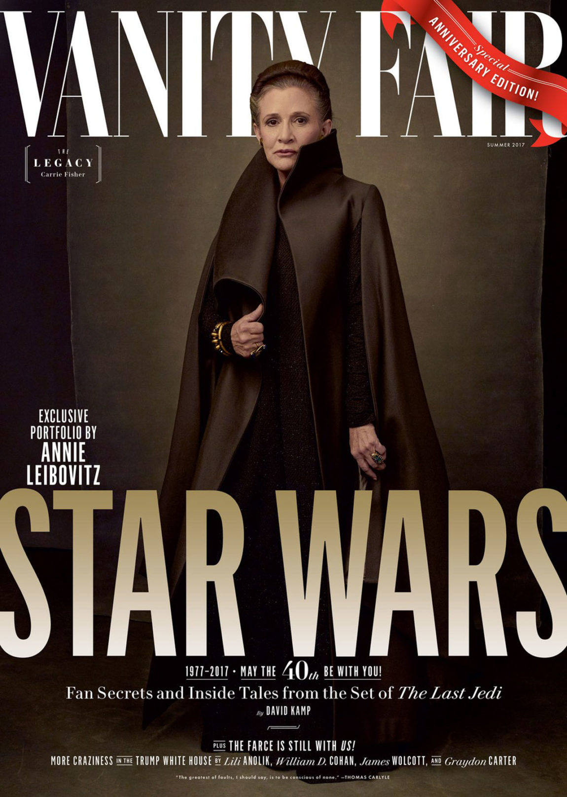 Vanity Fair Reveals the High Fashion of 'Star Wars: The Last Jedi'