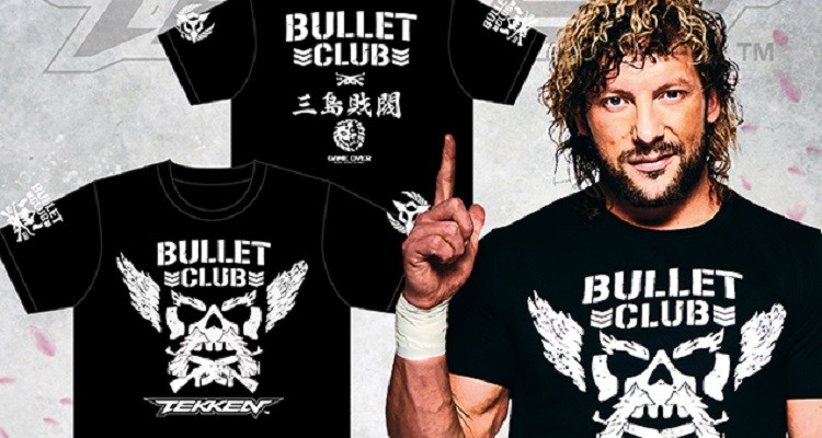 Tekken X New Japan Pro Wrestling & Bullet Club Shirts