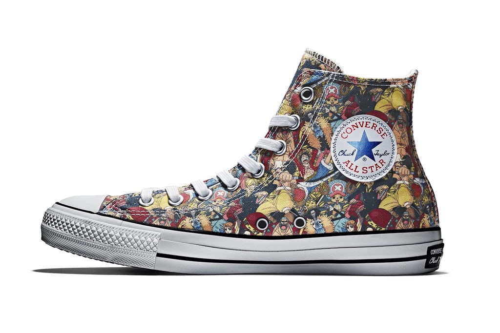 'One Piece' Converse All Star 100th Anniversary Edition