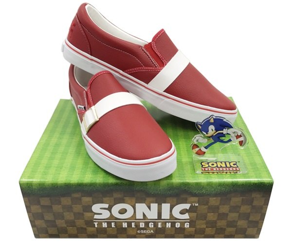 Sonic the Hedgehog 26th Anniversary Sneakers