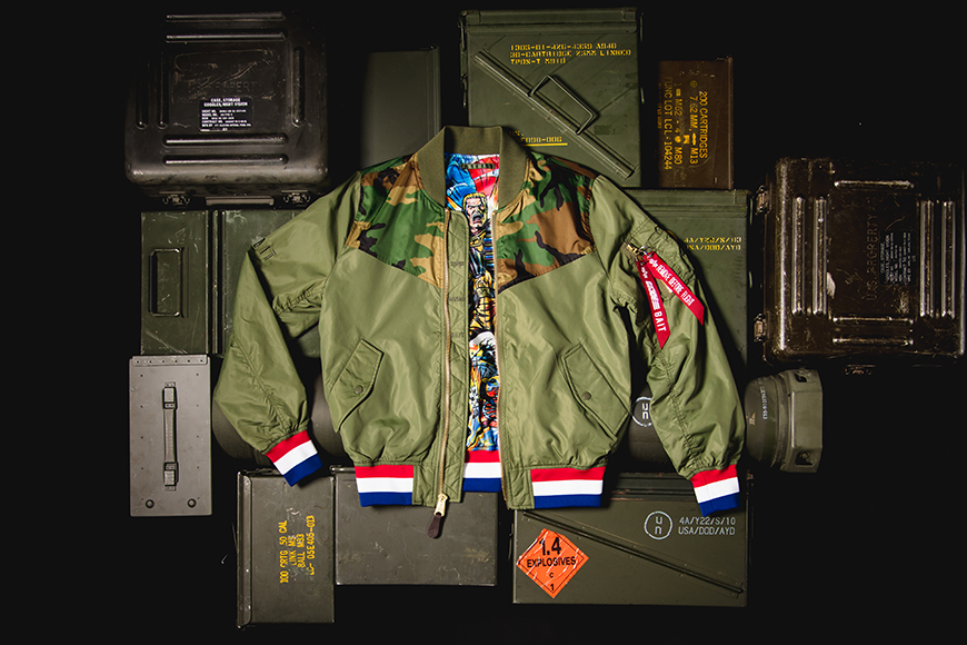 G.I. Joe L-2B SCOUT Jacket from Alpha Industries