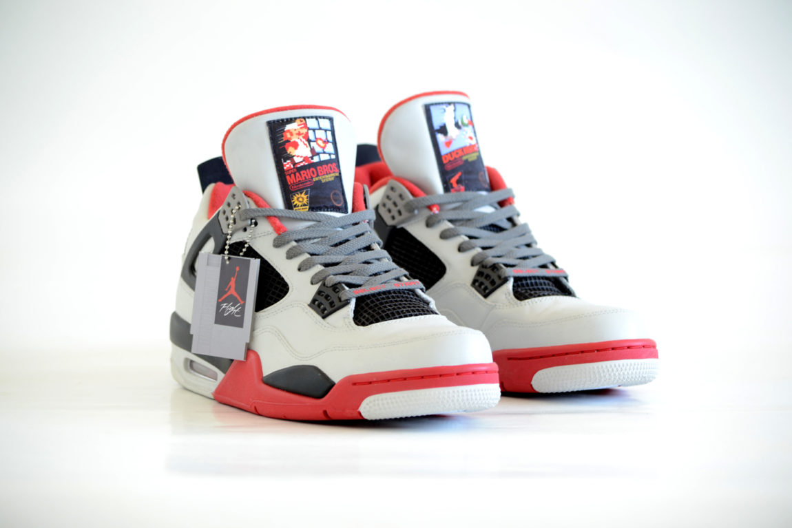 Retro Nintendo Air Jordans