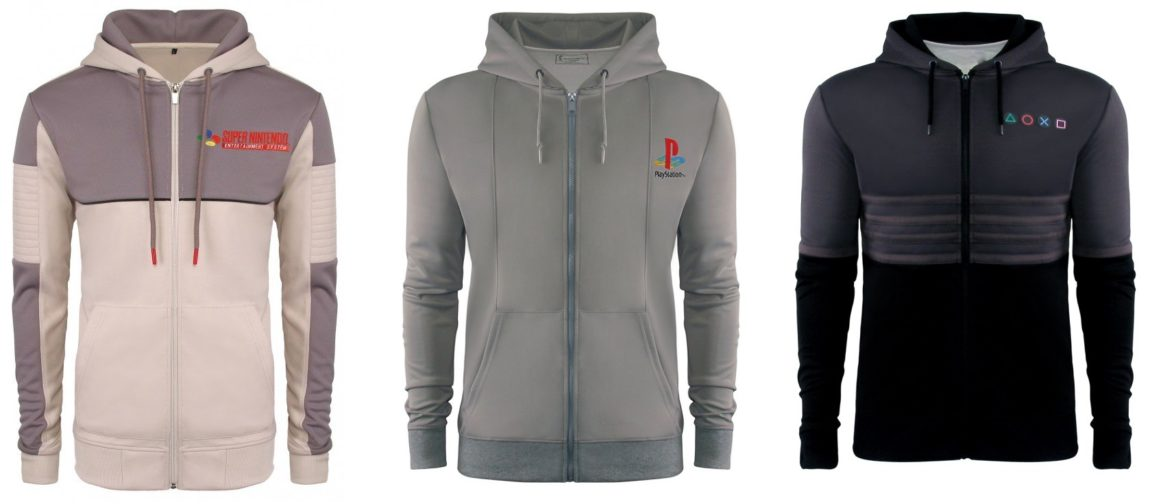 SNES, PS1, and PS2 Hoodies