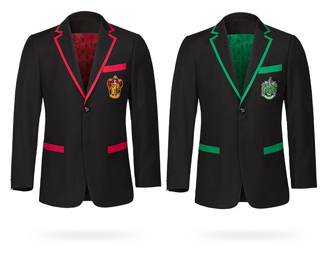 Harry Potter Gryffindor & Slytherin Blazers