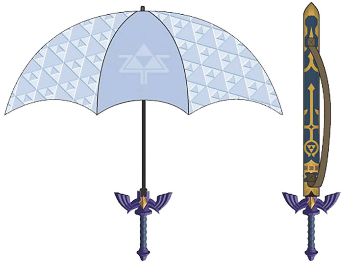 'The Legend of Zelda' Song of the Storms Umbrella Sword