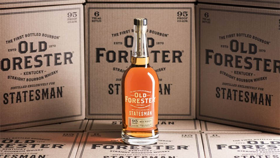 Drink like a Kingsman! Old Forester Statesman Whisky