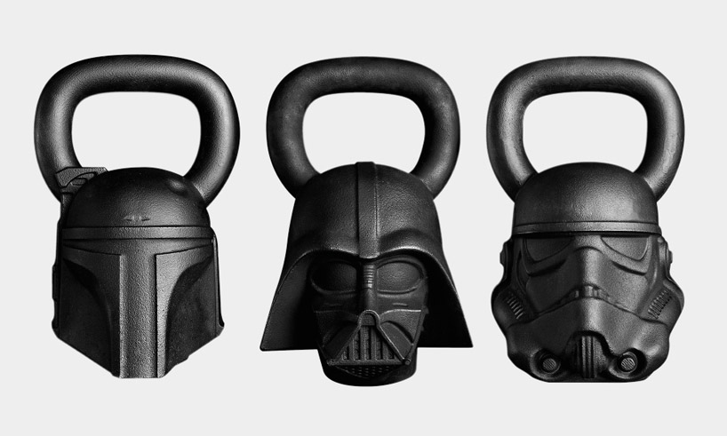 Star Wars Kettlebells, Slam Balls, and Yoga Mats