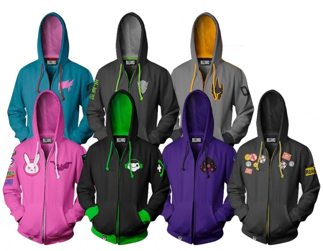 Overwatch Hoodies from J!NX
