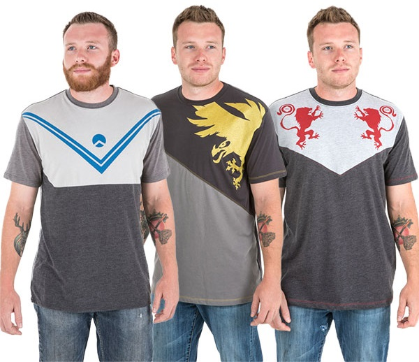 'Destiny 2' Titan, Hunter, and Warlock Shirts