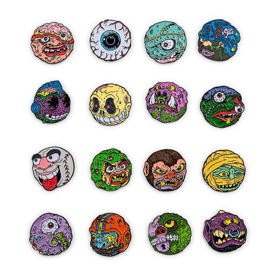 Kidrobot x Madballs Pins