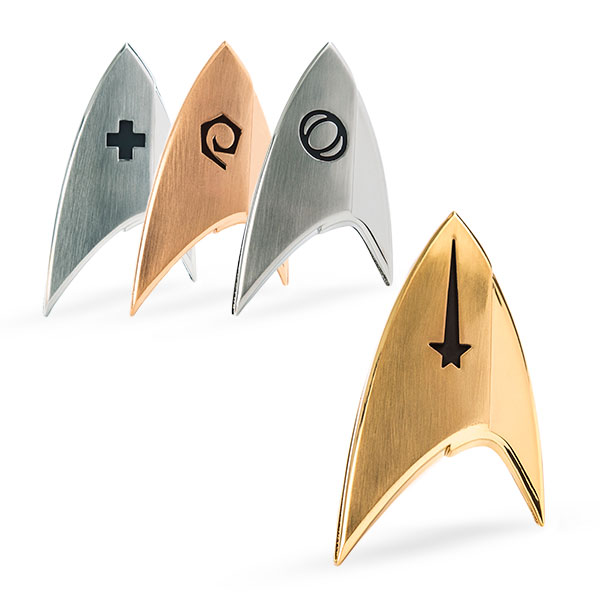 Official 'Star Trek: Discovery' Insignia Badges