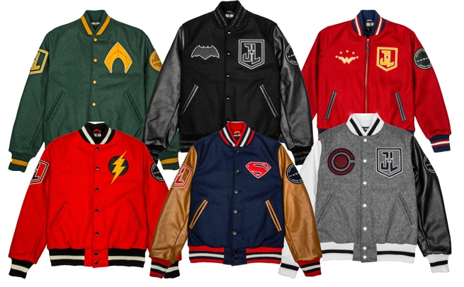 Justice League Varsity Jackets
