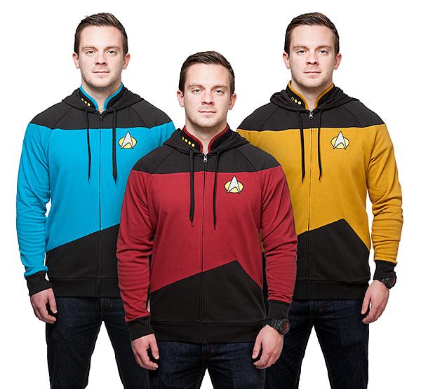 'Star Trek: The Next Generation' Uniform Hoodies - Suit Up ...