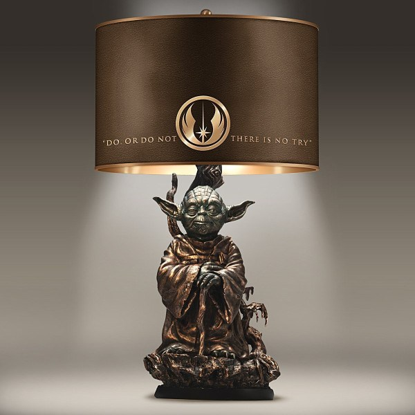 Bronze Yoda Table Lamp
