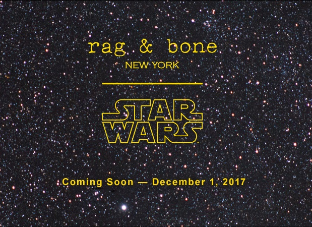 Rag & Bones x Star Wars 2017 Collection