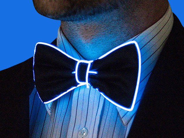 Class it up with a Light Up Bow Tie