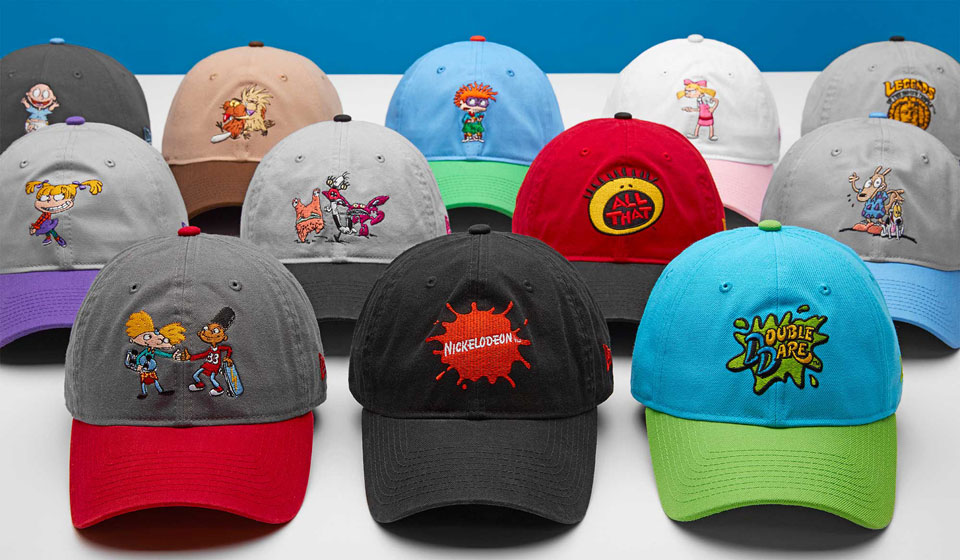 New Era's Nickelodeon 90's Caps