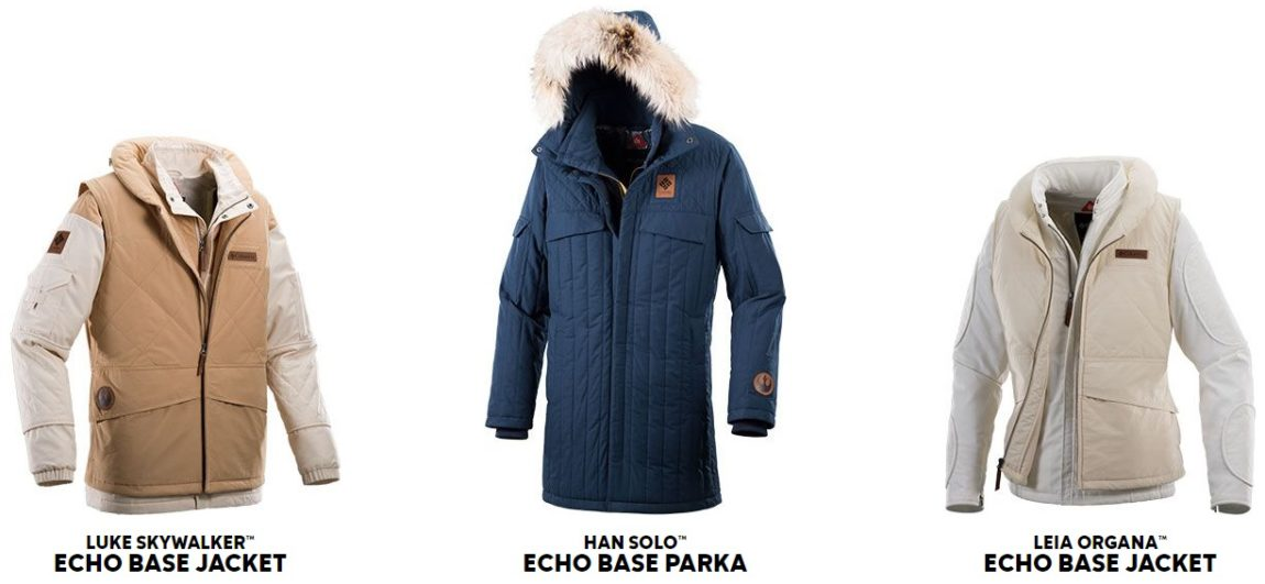Columbia Sportswear's Star Wars Echo Base Collection