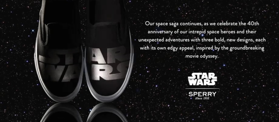 New Star Wars Shoes from Sperry