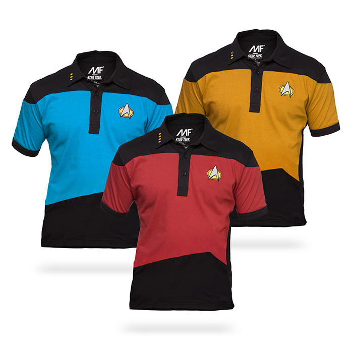 'Star Trek: The Next Generation' Polos