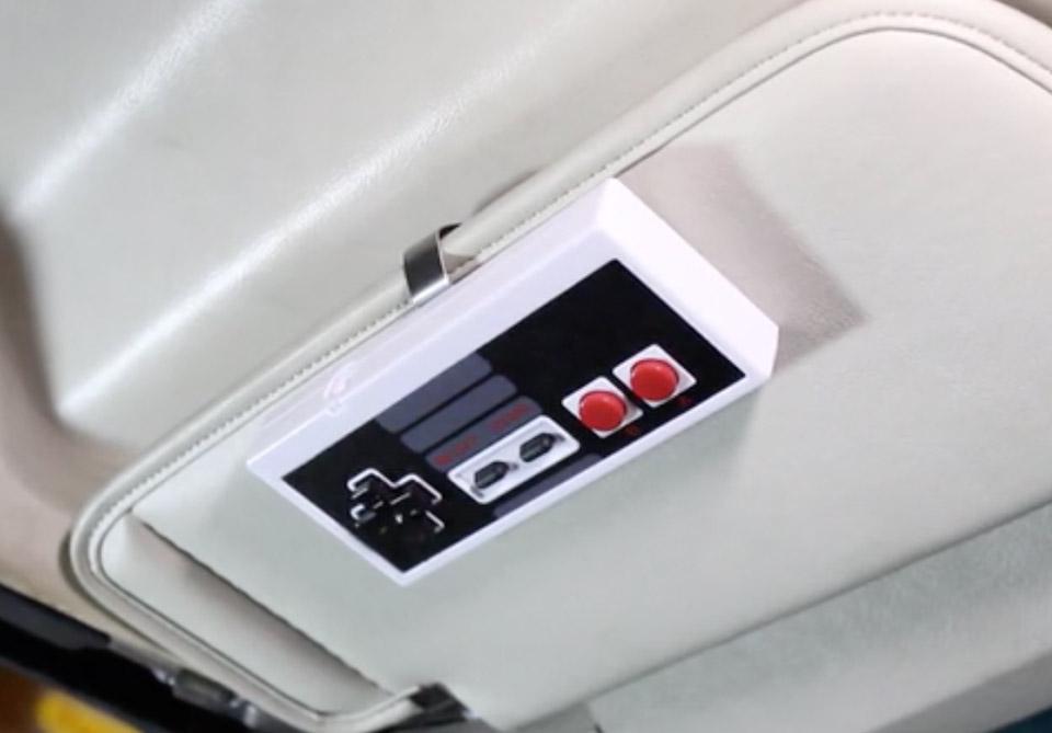 NES Controller Garage Door Opener