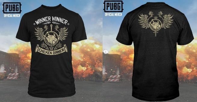 Official PUBG Winner Winner Chicken Dinner Shirt – Suit Up