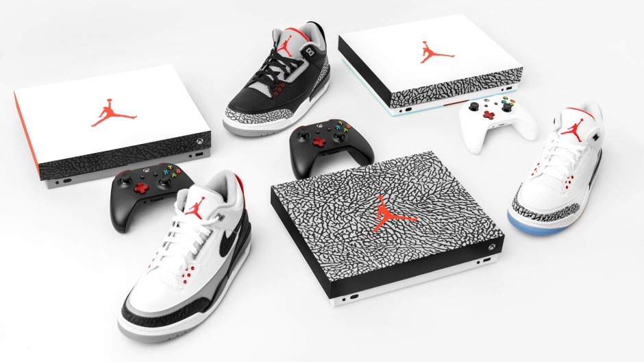 Limited Edition Air Jordan III Inspired Consoles