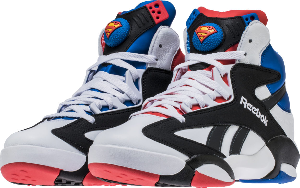 c2173c46016 Reebok Shaq Attaq Superman Sneakers – Suit Up! Geek Out!