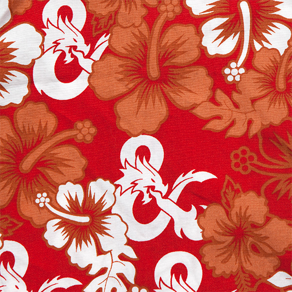 D&D Hawaiian Shirt – Suit Up! Geek Out!