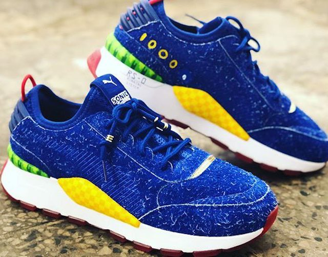 When Where How Sonic X Puma Sneakers Suit Up Geek Out