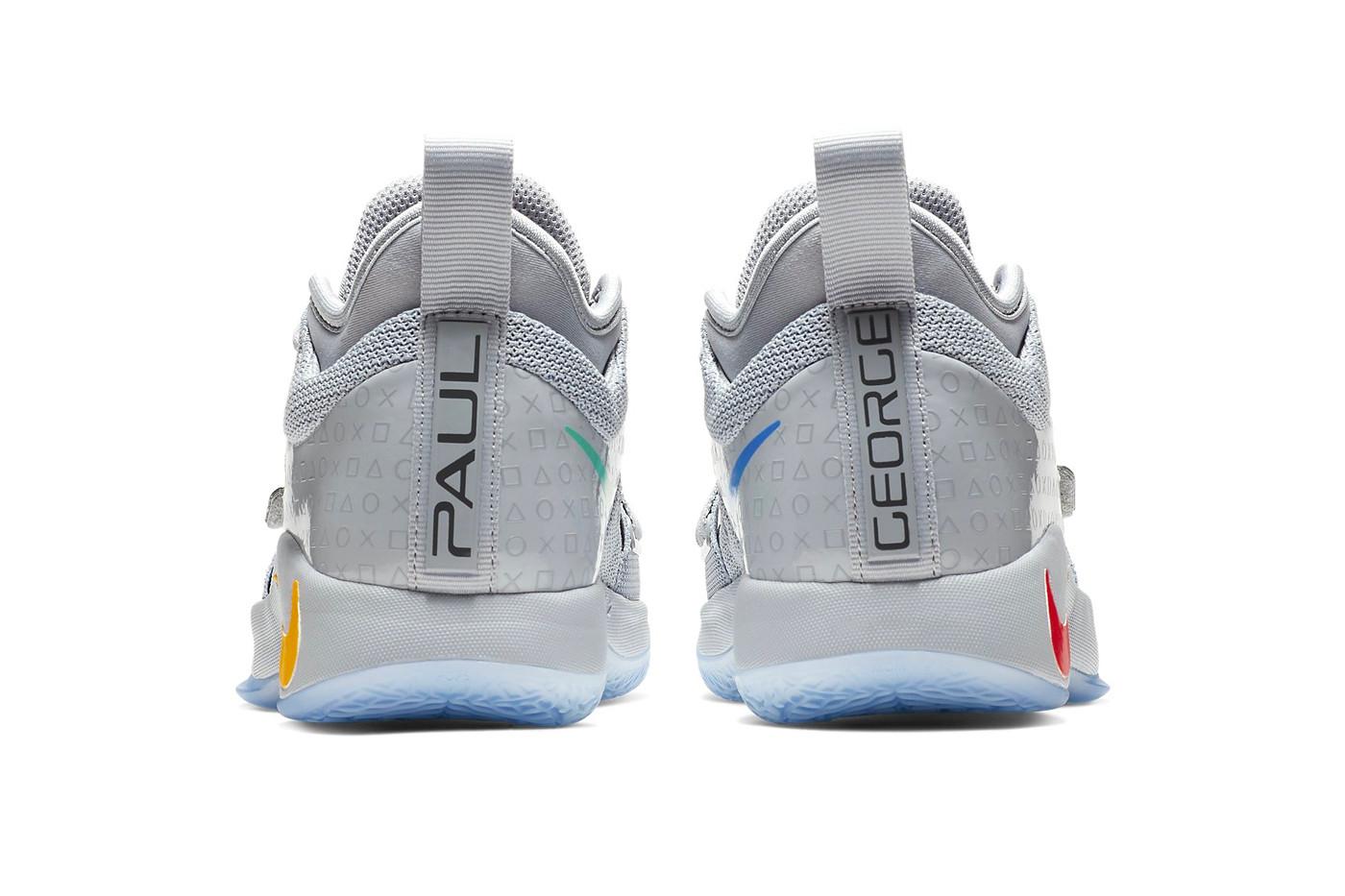 """big sale 4ca9d a4c81 Paul George Nike PG 2.5 """"Sony PlayStation Grey"""" Colorways ..."""