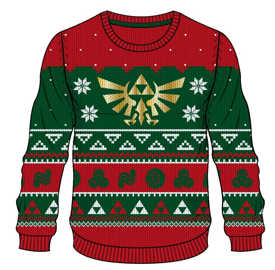 Ugly Christmas Sweaters For Gamers Suit Up Geek Out